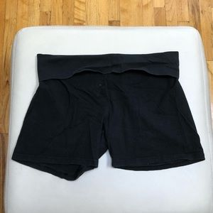 Aerie Black Biker Shorts Size XL
